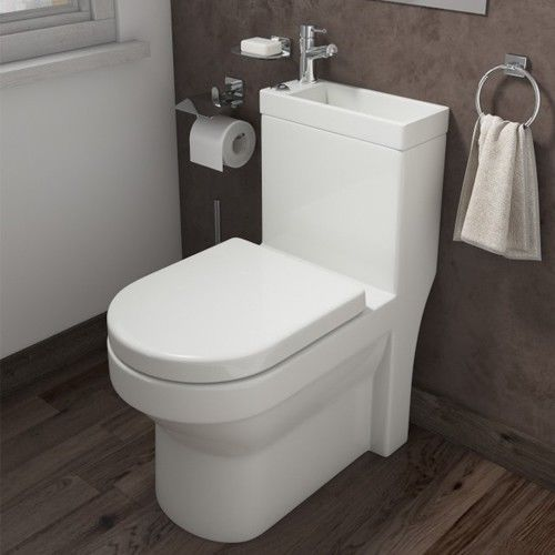Duo Toilet Basin Combo Combined Toilet And Sink Tap Space Saving Cloakroom Unit Ebay Toilets And Sinks Space Saving Bathroom Space Saving Toilet