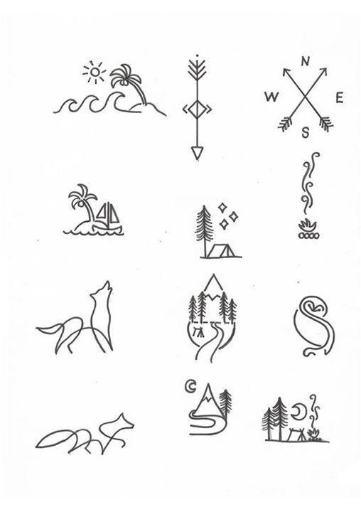 Editar Desenhos Pequenos Para Tatuagem Ideias De Tatuagem