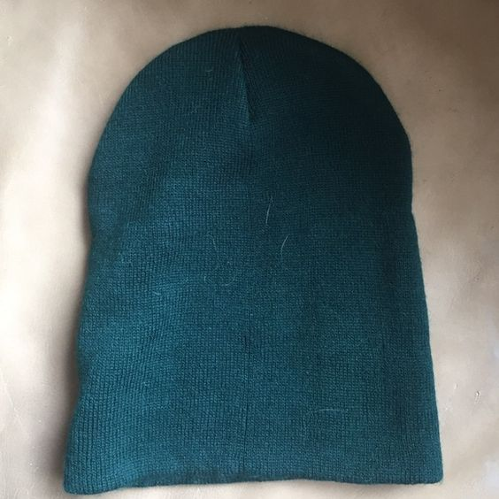Teal beanie Brand new Forever 21 Accessories Hats