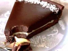 Chocolate Torte Cake - With a brownie base and chocolate creaminess this pie is sensational!