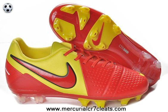 Latest Nike CTR360 Maestri III ACC FG Red Yellow