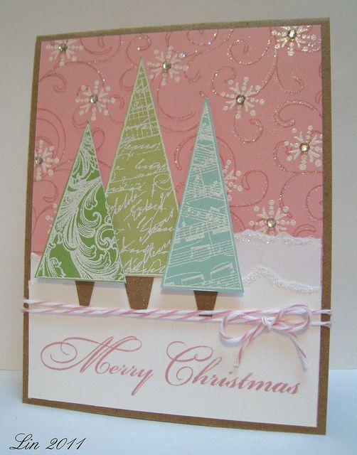hermoso tarjetas navidad en colores pastel tarjetas de navidad de color rosa tarjetas de navidad elegantes lamentables hermosas tarjetas de navidad