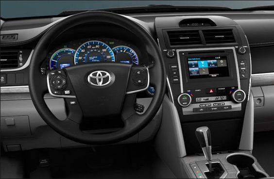 2015 Toyota Camry Car Interior