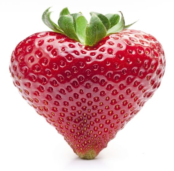 Strawberry heart: