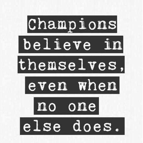 Be the champion that you are! #active #businessbabe #boxing #beauty #badass #cardio #crossfit #DaMo  #exercise #fit #fitness #fitgirl #gym #gymaholic #gymaddict #healthy #inspiration #kcco #lift #lifestyle #motivation #run #squat #strength #strong #training #weightloss #workout #weights #muscle