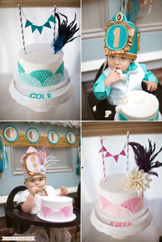 Great Gatsby cake theme   1920's Great Gatsby Themed Twins 1st Birthday - Pretty My Party