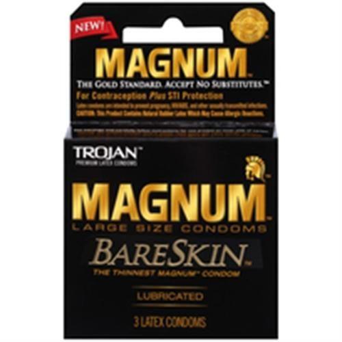 Magnum Bareskin Large Size Condoms With Images Magnum Bareskin Condoms Trojan Condoms