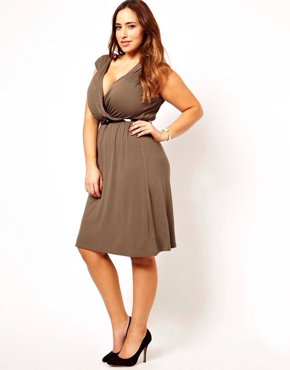 Curvy models, Fashion plus sizes and Plus size on Pinterest