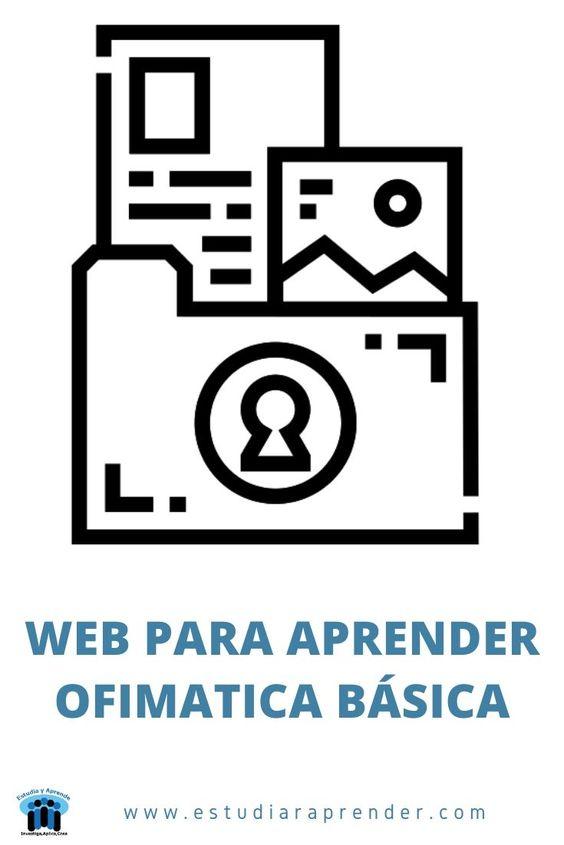 web para aprender ofimatica basica