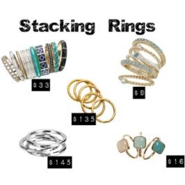 THE MAMANISTA-Stacking Rings