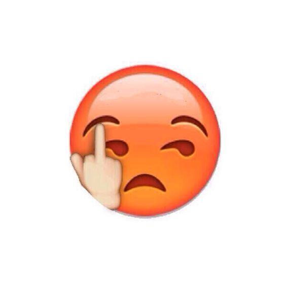 Emoji Giving The Middle Finger