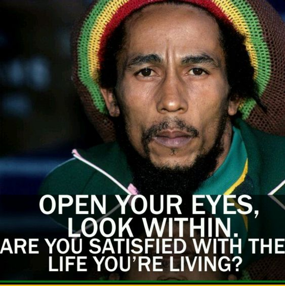 Bob Marley quote No I want something somebody in it I'm work myself into a monster! For myself ! And look good better;-)