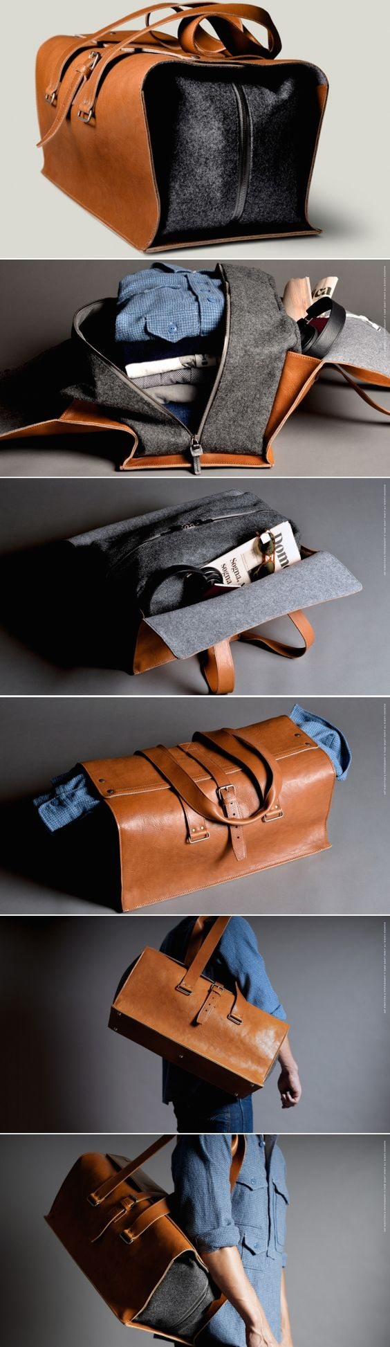 #hardgraft 1st Edition Travel Bag