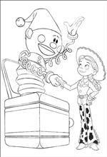 coloring page Toy Story 3 | Toy Story Coloring Pages | Pinterest ...