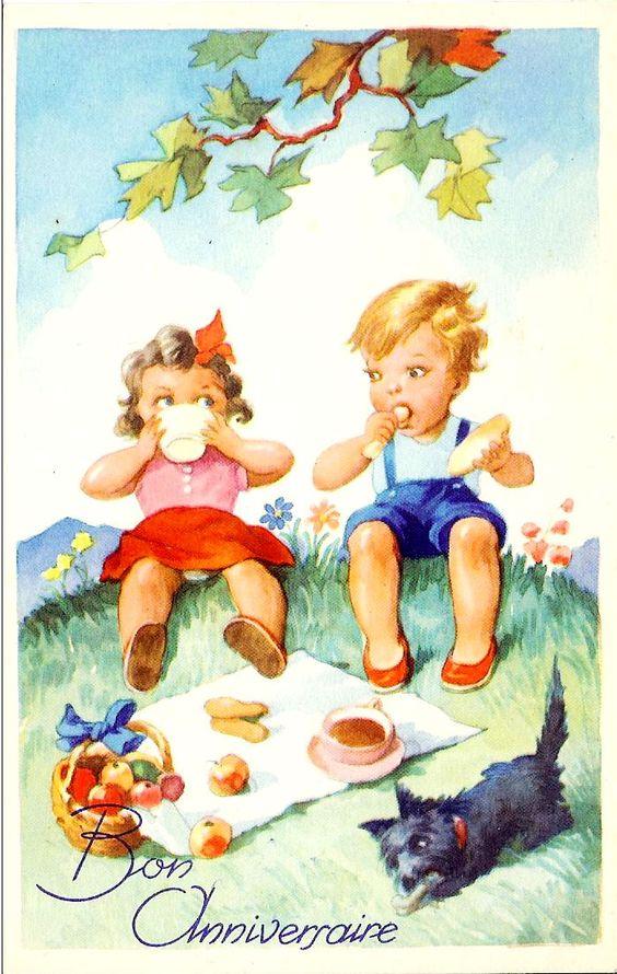 Vintage Summer Postcards   scrapologie : Vintage Images ...