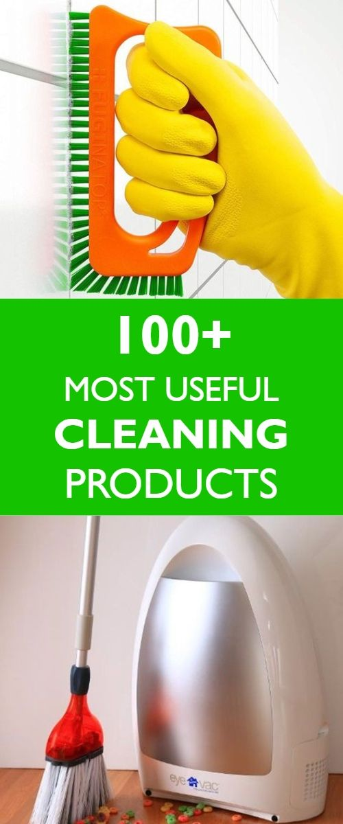 Following Are Top 100 Amazing Cleaning Products To Make Your Life