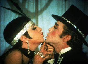 Sally (Liza Minnelli) and Emcee (Joel Grey) of Cabaret