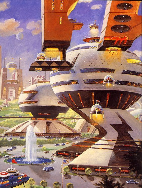 Retrofuturism With Images Retro Futurism 70s Sci Fi Art Sci