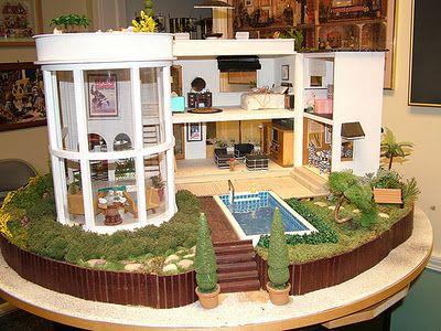 Dollhouses House And The Edge On Pinterest