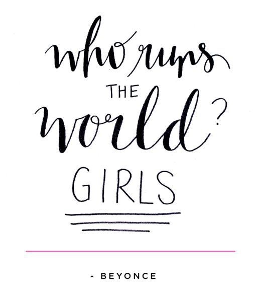 Quotes About Girls Unique Pincalm Down Its Still Monday On Who Run The World Girlz .
