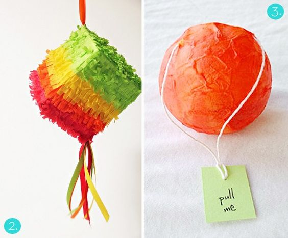how to make a pinata with a balloon