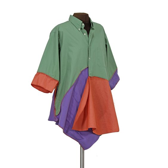 eau de Jeanette smock-jacket - Secret Lentil Clothing