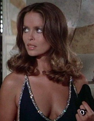 James Bond girl Babara Bach playing Anya Amasova in The Spy Who Loved Me 1977