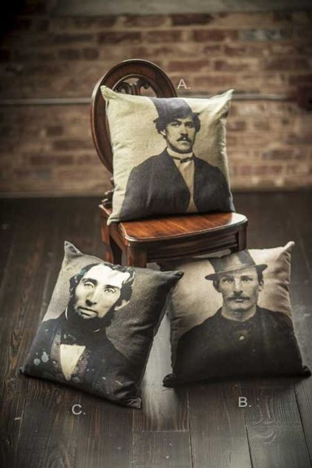 Printed Throw Pillows by Vagabond Vintage®