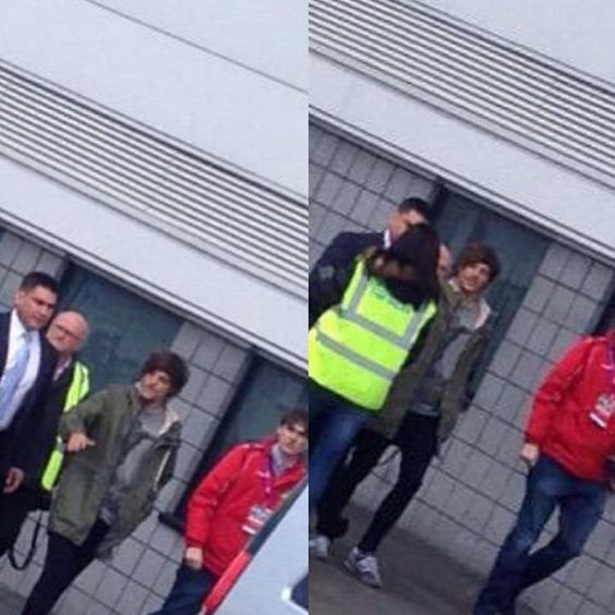 Louis at keepmoat stadium in Doncaster April 19