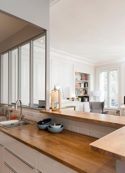 Un Appartement Traversant Marion Lano Architecte D
