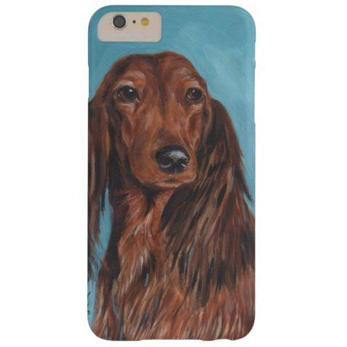 Long Haired Dachshund Barely There Iphone 6 Plus Case Dachshund Training Miniature Dapple Dachshund Dachshund Ornament Dachshun