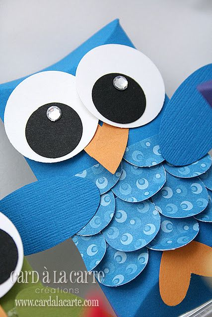 Paper owl craft could use toilet paper tube kappa kappa for Toilet paper tube owls