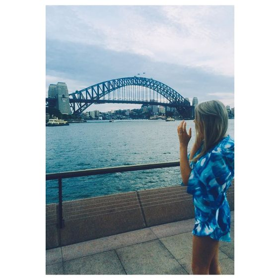 Perth gal in Sydney #circularquay #sydneyharbourbridge by lucymmenlovex http://ift.tt/1NRMbNv