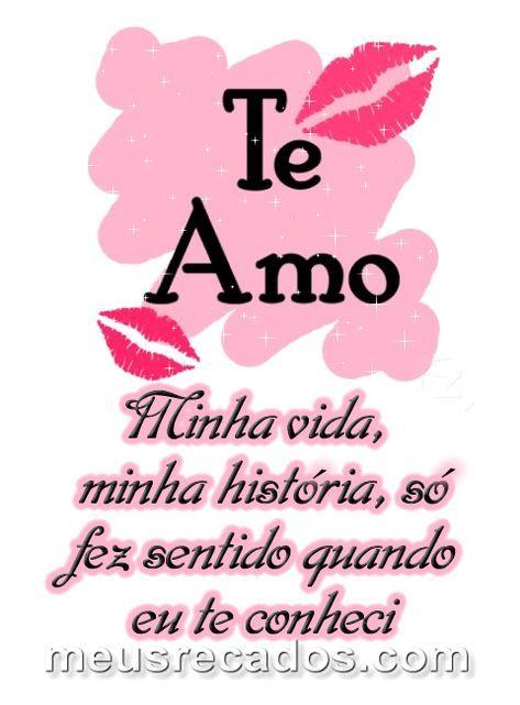 Meu Amor Eu Te Amo Muito Te Amo Meu Amor Melhores Frases De