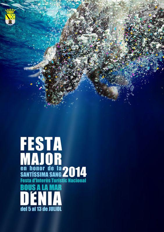 Resultado de imagen de cartel festa major denia 2014: