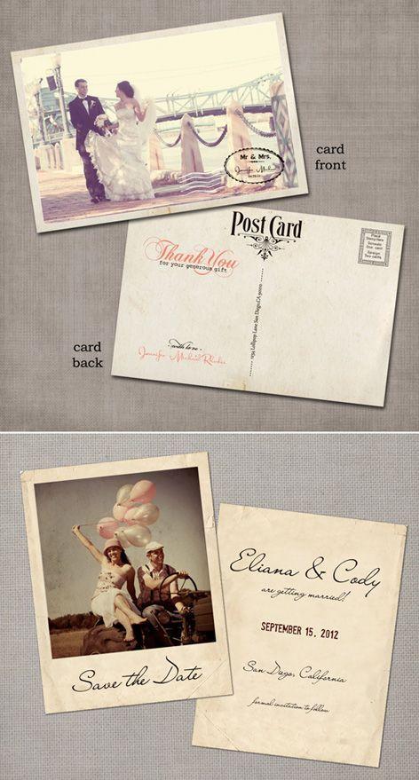 Kartu Undangan Vintage