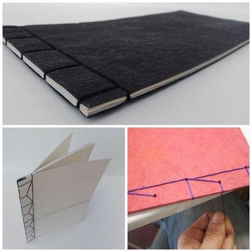 HOW TO: workshop in bcn  Japanese Bookbinding