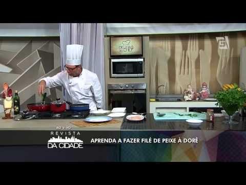 Filé de peixe a dore – Receitas –TV Gazeta