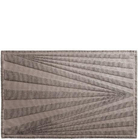 Badrum badrum matta : Design by Bernadotte & Kylberg badrumsmatta Optica grå 50x80 cm ...