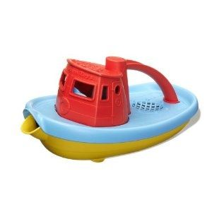 Green Toys Tugboat - Eco-friendly and a great hair rinser too!