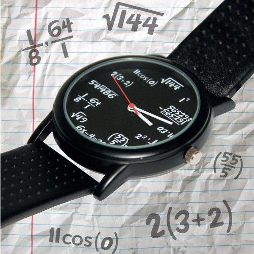 #Orologio da polso matematico  ad Euro 26.95 in #Regali #Originali