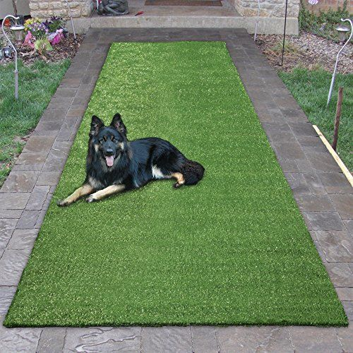 Sweet Home Stores Mdr350 3x10 Area Rug Green Turf Artificial Grass Rug Artificial Grass Indoor Outdoor Area Rugs