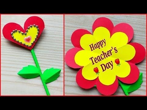 Teacher S Day Gift Ideas Easy Handmade Diy Teachers Day Greeting