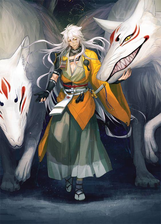 狐を従える刀剣乱舞