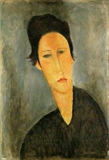 Head of a Woman (Anna Zborowska):