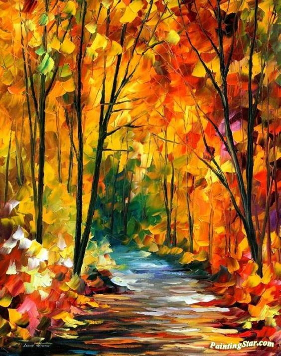 Hidden emotions Artwork by Leonid Afremov Hand-painted and Art Prints on canvas for sale,you can custom the size and frame