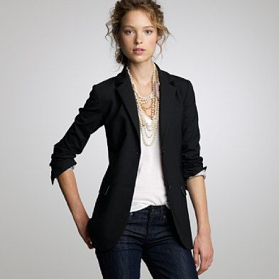 Women's Business Casual Blazer | Business Casual Attire - Women ...