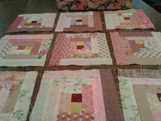 Pink Quilt blocks: