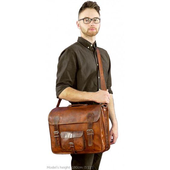 Leon Umhängetasche Messengerbag Laptoptasche-32
