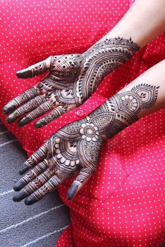 This Is Best Palm Mehndi Design For Wedding Palm Mehndi Design